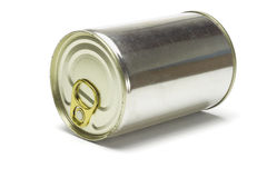 Sealed tin can Royalty Free Stock Photo