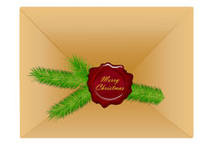 Sealed wax seal red envelope sealed wishes. Sealed wax seal envelope sealed wishes Stock Image
