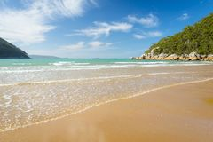 Sealers Cove Shoreline. In Wilsons Promontory National Park, Victoria, Australia Stock Image