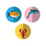 Sealife Logo Template Stock Images