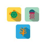 Sealife Logo Template Stock Image