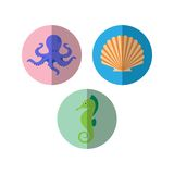 Sealife Logo Template Stock Photography