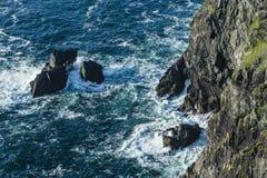 Sealine на Bruff, острове Валенсии Стоковая Фотография