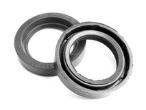 Sealing ring. The sealing rings used in machines Royalty Free Stock Image