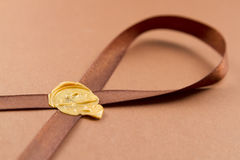 Sealing wax Royalty Free Stock Images