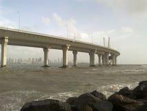 Sealink constrói uma ponte sobre Fotos de Stock