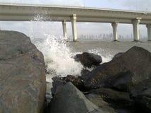 Sealink constrói uma ponte sobre Imagem de Stock