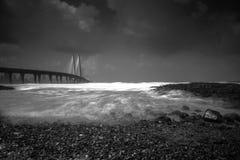 Sealink getta un ponte su Fotografia Stock Libera da Diritti
