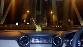 Sealink mumbai in a car photography stock photography
