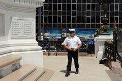 Seamаn από το μνημείο στους ήρωες του ναυτικού αγώνα Iquique το 1879 Στοκ φωτογραφία με δικαίωμα ελεύθερης χρήσης