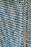 Seam. Close-up seam of jeans cloth,highly detail royalty free stock images