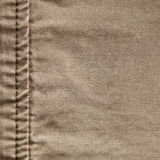 Seam in burlap Royalty Free Stock Images