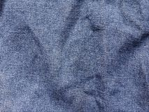 Seam jean texture. Close up seam jean texture royalty free stock photography