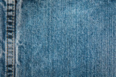 Seam in Jeans. A seam in some jeans Royalty Free Stock Photography