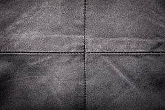 Seam on leather product Stock Photos