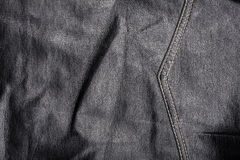 Seam on leather product Royalty Free Stock Images