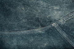 Seam on suede product Royalty Free Stock Photography