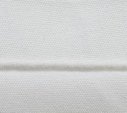 Seam of white fabric Royalty Free Stock Photos