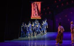 "Seaman return-Dance drama ""The Dream of Maritime Silk Road"" Royalty Free Stock Photo"