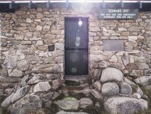 Seaman's Hut Kosciuszko NP Stock Images