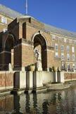 Seaman Statue isabelino, ayuntamiento Fotografía de archivo