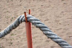 Seamanship rope Royalty Free Stock Photos