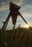 Seamark au lever de soleil Photos libres de droits