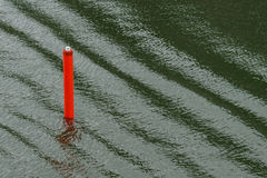 Seamark che dà direzione ai marinai Fotografie Stock Libere da Diritti