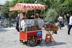 seame хлеба осеменяет продавеца Стоковая Фотография RF