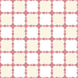 Seamelss kitchen pattern. Seamless kitchen pattern with red borders on white Royalty Free Stock Images