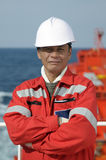 Seamen - boatswain Stock Photography
