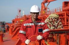 Seamen - boatswain Stock Image
