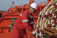 Seamen - boatswain Royalty Free Stock Photo