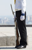 Seamen  in  uniform Royalty Free Stock Images