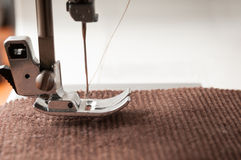 Seaming clothing Royalty Free Stock Images