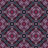 Seamleas ethnic tiled  pattern Royalty Free Stock Photo