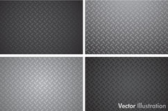 Seamleass metal texture pattern Stock Photos