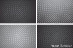 Seamleass metal texture pattern Stock Photos