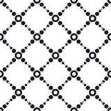 Seamlees抽象几何墙纸 库存图片