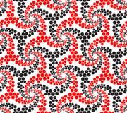 Seamlees抽象几何样式 免版税库存图片
