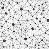 Seamlees神经网络背景 库存图片