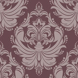 Seamlees damask floral Ornament for design Stock Photography