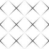 Seamlees Monochrome Geometric Background Stock Photo