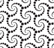 Seamlees Monochrome Pattern Royalty Free Stock Photo