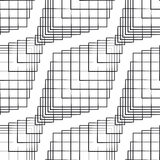 Seamlees Monochrome Pattern Royalty Free Stock Photo