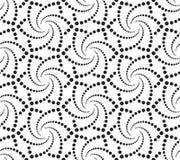 Seamlees Monochrome Wallpaper Stock Photo