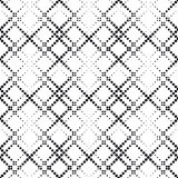 Seamlees monokrom geometrisk bakgrund Arkivfoto