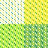 Seamlees-Musterethnische Pflanzenmotive stock abbildung