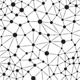 Seamlees-Neuron-Hintergrund Stockbilder