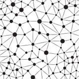 Seamlees Neuronbakgrund Arkivbilder